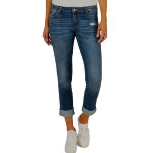 Kut from the Kloth Catherine boyfriend cuff jeans